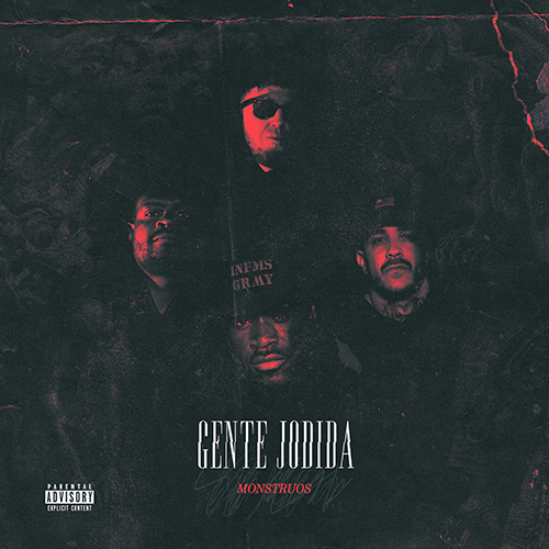 GENTE JODIDA – MONSTRUOS (LP)
